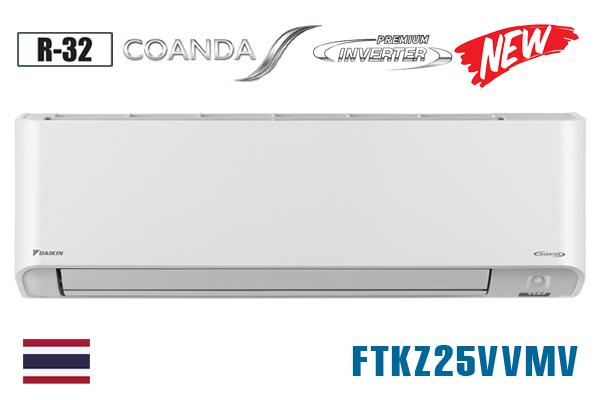 Daikin FTKZ25VVMV, Điều hòa Daikin 1 chiều 9000BTU inverter