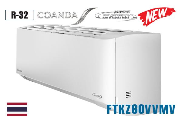 Daikin FTKZ60VVMV, Điều hòa Daikin 1 chiều 21000BTU inverter