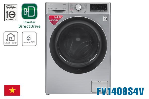 LG FV1408S4V, Máy giặt LG 8.5kg cửa ngang [Giá rẻ nhất 2020]