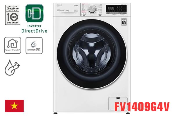 LG FV1409G4V, Máy giặt LG 9kg có sấy 5kg [Giá rẻ nhất 2020]