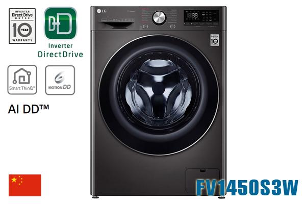 Máy giặt LG FV1450S2B 10.5Kg cửa ngang inverter [Màu đen]