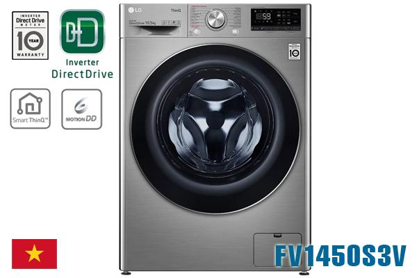 LG FV1450S3V, Máy giặt LG cửa ngang 10.5kg [Giá rẻ nhất 2020]