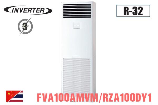 FVA100AMVM/RZA100DY1, Điều hòa cây Daikin 34000BTU 2 chiều inverter