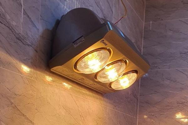 Đèn sưởi nhà tắm Galaxy 3 bóng GHL-3LY [Giá rẻ nhất]