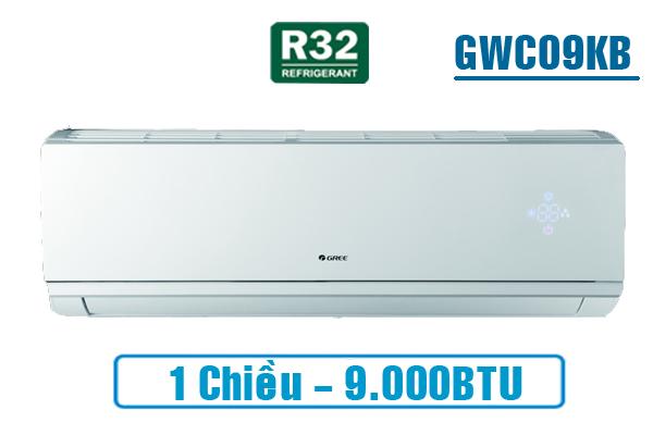Gree GWC09KB-K6N0C4, Điều hòa Gree 1 chiều 9000BTU gas R32