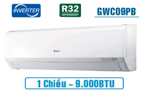 Gree GWC09PB-K3D0P4, Điều hòa Gree 9000BTU 1 chiều inverter