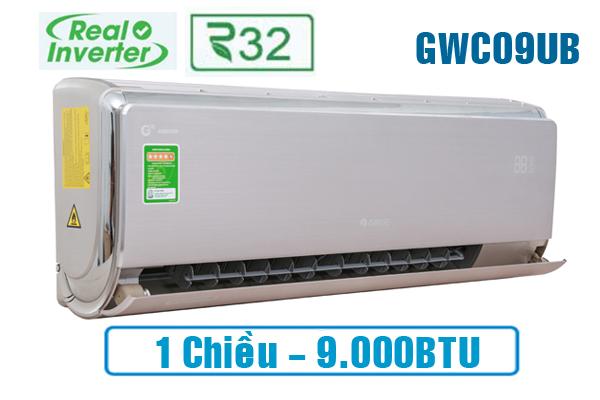 Gree GWC09UB-S6D9A4A, Điều hòa 1 chiều Gree inverter 9000BTU