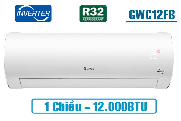 Gree GWC12FB-K6D9A1W, Điều hòa Gree 12000BTU inverter 1 chiều