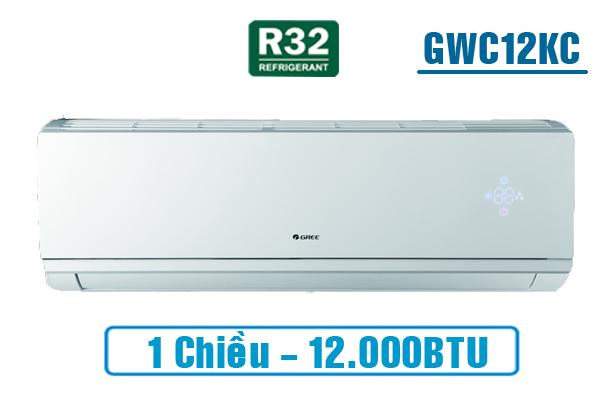 Gree GWC12KC-K6N0C4, Điều hòa Gree 1 chiều 12000BTU gas R32