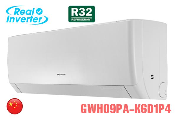 GWH09PA-K6D1P4, Điều hòa Gree 9000 BTU 2 chiều inverter