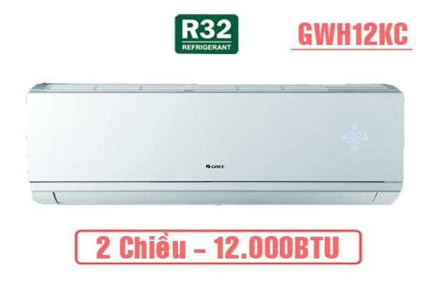 Gree GWH12KC-K6N0C4, Điều hòa Gree 12000 BTU 2 chiều gas R32