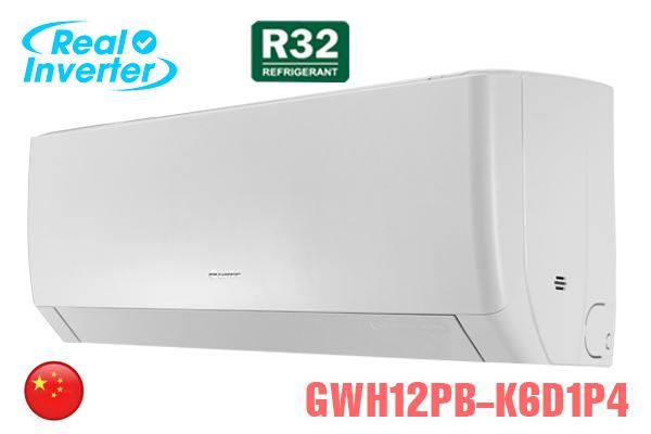 GWH12PB-K6D1P4, Điều hòa Gree 12000BTU 2 chiều inverter