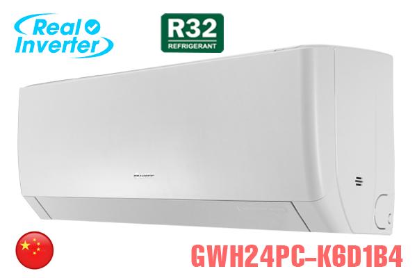 GWH24PC-K6D1B4, Điều hòa Gree 24000BTU 2 chiều inverter