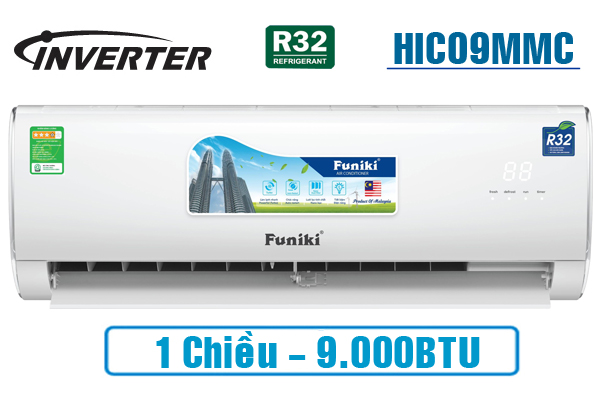 Funiki HIC09MMC, Điều hòa Funiki 9000BTU 1 chiều inverter