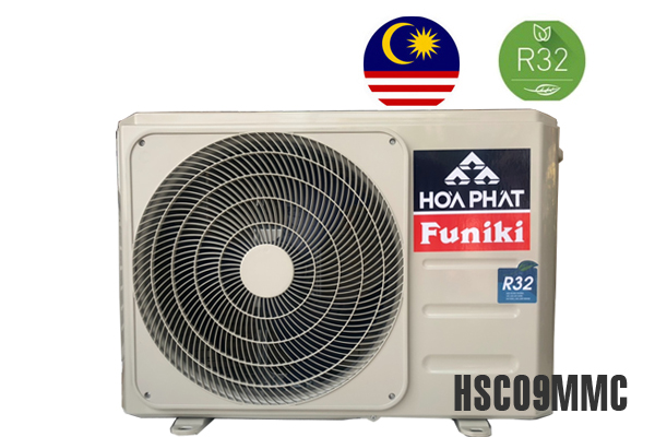 Funiki HSC09MMC, Điều hòa Funiki 9000BTU 1 chiều gas R32