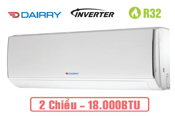 Dairry i-DR18KH, Điều hòa Dairry 2 chiều 18000BTU inverter