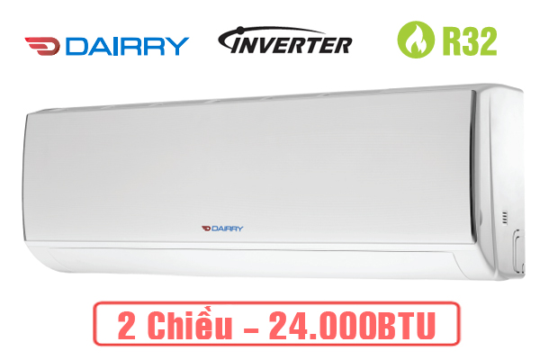 Dairry i-DR24KH, Điều hòa Dairry 2 chiều 24000BTU inverter