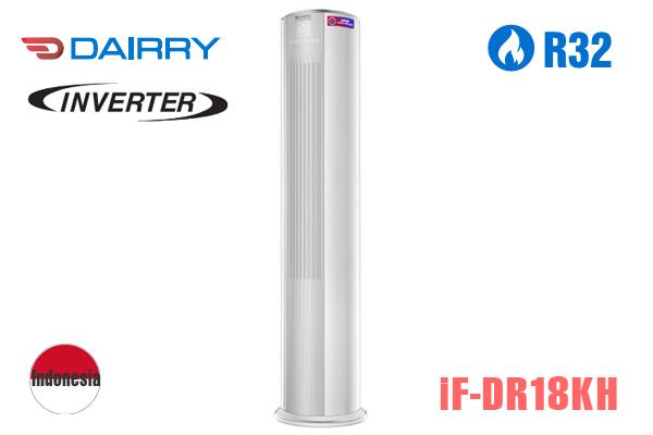 iF-DR18KH, Điều hòa tủ đứng Dairry 18000BTU 2 chiều inverter