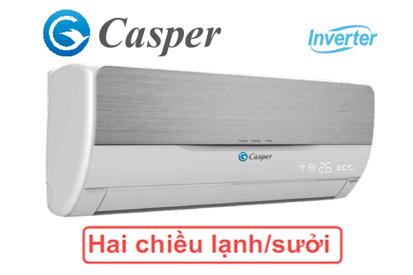 Điều hòa Casper inverter 12.000BTU 2 chiều IH-12TL11