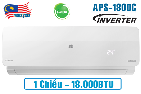 APS/APO-180DC, Điều hòa Sumikura 18000BTU 1 chiều Inverter