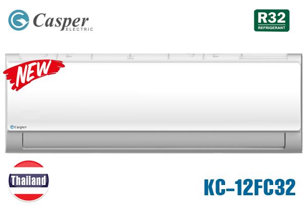 KC-12FC32, Điều hòa Casper 12000 BTU 1 chiều Thái Lan [2021]