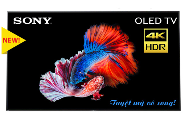Tivi Sony OLED 55 inch 4K HDR KD-55A1