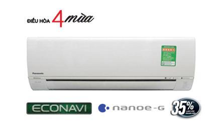 Điều hòa Panasonic 2 chiều 9000btu A9RKH-8 econavi