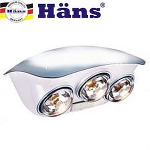 Đèn sưởi nhà tắm Hans 3 bóng h3b giá rẻ, chính hãng