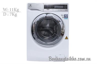 Electrolux EWW14113VN, Máy giặt 11Kg - sấy 7Kg Electrolux