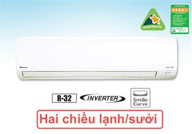Điều hòa Daikin 2 chiều 18000BTU inverter FTHF50RVMV gas giá rẻ