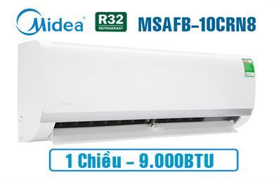 Midea MSAFB-10CRN8, Điều hòa Midea 1 chiều 9000BTU gas R32