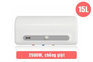 Ferroli QQ ME 15L, Bình nước nóng Ferroli 15 lít giá rẻ nhất