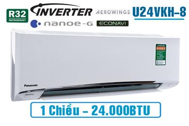 Panasonic U24VKH-8, Điều hòa Panasonic 24.000BTU 1 chiều inverter
