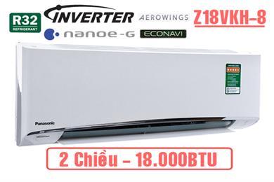 Panasonic Z18VKH-8, Điều hòa Panasonic 2 chiều inverter 18.000BTU