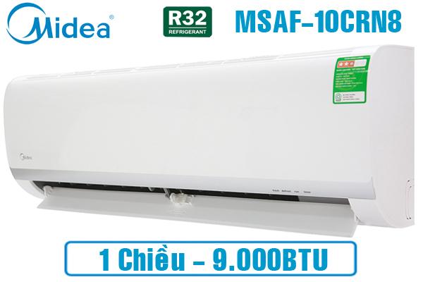 MSAF-10CRN8, Điều hòa Midea 9000 BTU 1 chiều gas R32