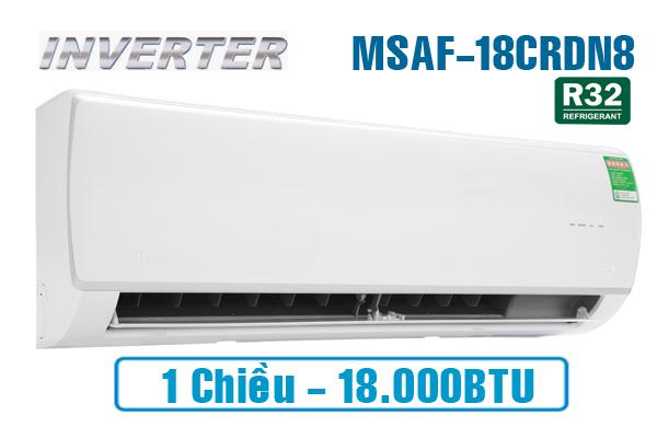 Midea MSAF-18CRDN8, Điều hòa Midea inverter 18000BTU 1 chiều