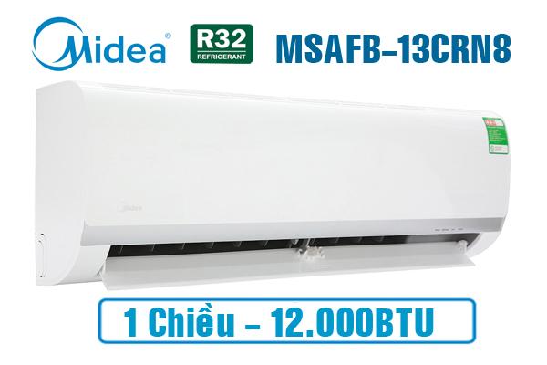 Midea MSAFB-13CRN8, Điều hòa Midea 1 chiều 12000BTU gas R32