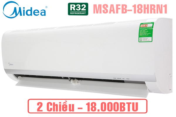 Midea MSAFB-18HRN1, Điều hòa Midea 18000BTU 2 chiều gas R410a