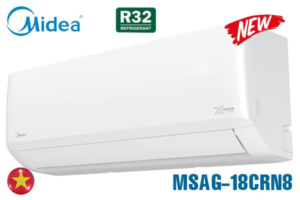 MSAG-18CRN8, Điều hòa Midea 18000 BTU 1 chiều giá rẻ 2021