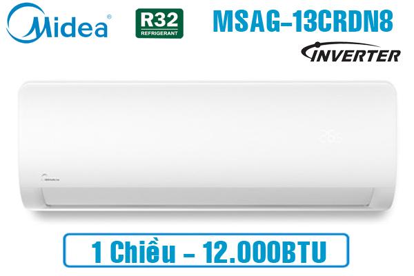 Midea MSAG-13CRDN8, Điều hòa Midea 12000BTU 1 chiều inverter gas R32