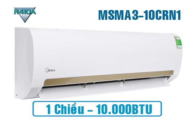 Midea MSMA3-10CRN1, Điều hòa Midea 9000BTU 1 chiều ga R410a
