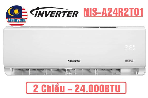 Nagakawa NIS-A24R2T01, Điều hòa Nagakawa 24000BTU 2 chiều inverter