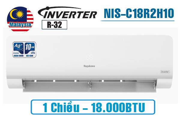NIS-C18R2H10, Điều hòa Nagakawa 18000BTU 1 chiều inverter