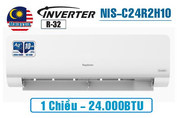NIS-C24R2H10, Điều hòa Nagakawa 24000BTU 1 chiều inverter