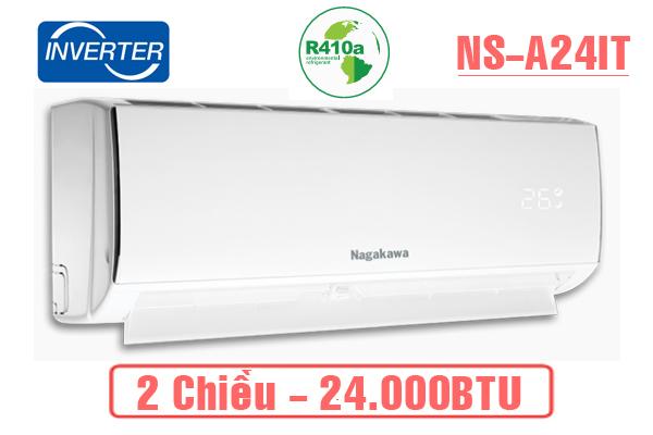 Nagakawa NS-A24IT, Điều hòa Nagakawa 2 chiều 24.000BTU Inverter