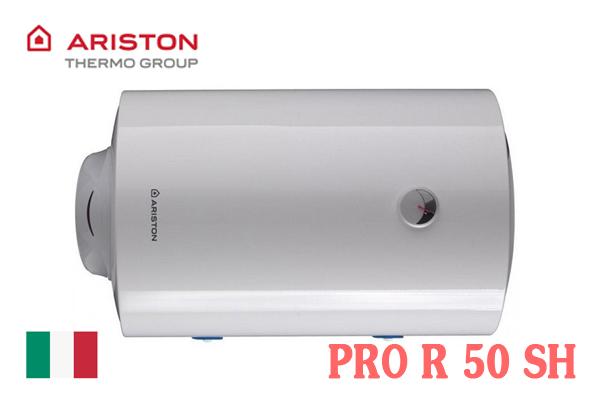 Bình nóng lạnh Ariston 50l ngang PRO R 50 SH [Giá rẻ 2021]
