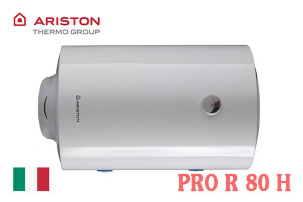 Ariston PRO R 80 H, Bình nóng lạnh Ariston 80l ngang
