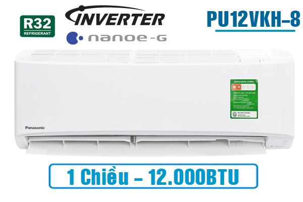 Điều hòa Panasonic 1 chiều 12.000BTU inverter PU12VKH-8