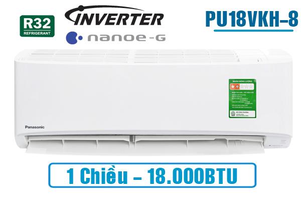 Panasonic PU18VKH-8, Điều hòa Panasonic 1 chiều 18.000BTU inverter
