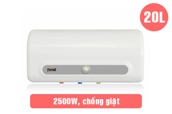 Ferroli QQ ME 20L, Bình nước nóng Ferroli 20 lít giá rẻ nhất